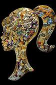 divers accessoires de mode bijoux