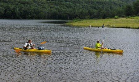 Kayaking at Colgate Lake, NY