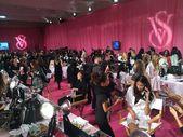 Backstage before Victoria's Secret Fashion Show