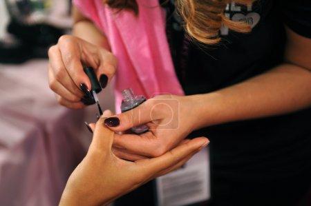 Nails preparation