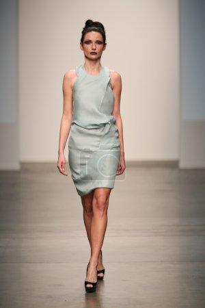 Model at Riza Manalo show