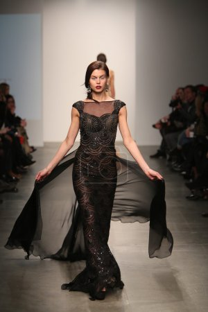 Model at Dany Tabet show