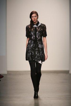 Model at Gabrielle Arruda show