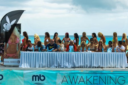 Models during IBMS at Beach Resort