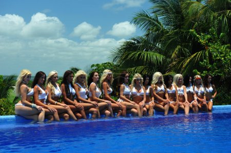 Models at International Bikini Model Search