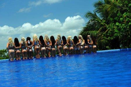 Models at International Bikini Model Search