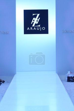 General view of runway at AZ Araujo Swimwear collection