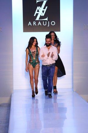AZ Araujo and celebrity models