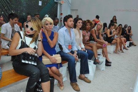 Guests attend the A.Z Araujo show
