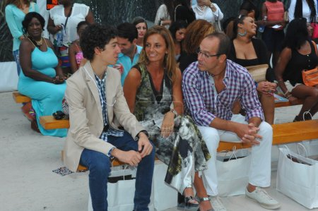 Guests attend the A.Z Araujo show