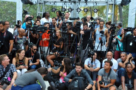 Photographers platform the A.Z Araujo show