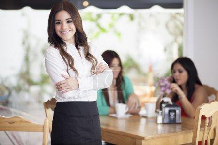 Photo for Waitress - Royalty Free Image