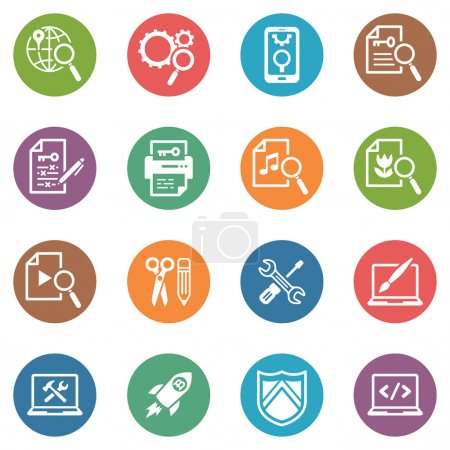 SEO & Internet Marketing Icons Set 1 - Dot Series
