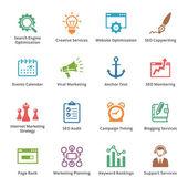 SEO & Internet Marketing Icons Set 5 - Colored Series