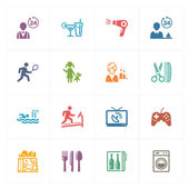 Hotel Icons Set 2 - Colored Series
