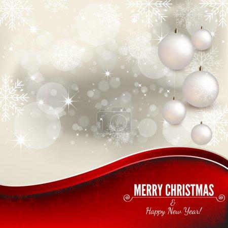 Weihnachtlicher Hintergrund
