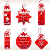 Christmas Labels - Illustration
