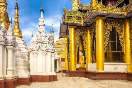 Photo for Shwedagon Pagoda in Yangon, Myanmar. Oldest building. - Royalty Free Image