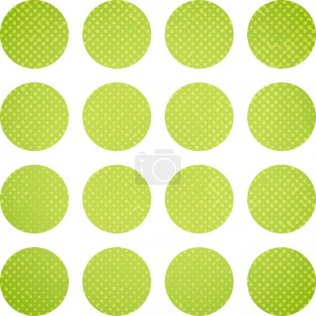 abstract circles on white background