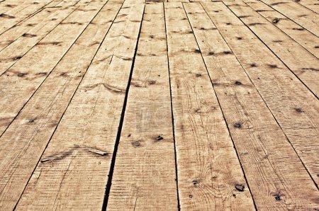 Photo pour Texture du plancher en bois - image libre de droit