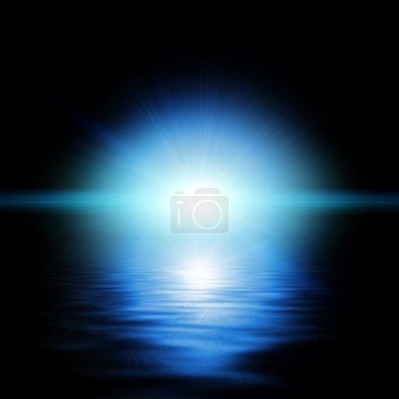 Photo pour Rayons de lumière colorées - image libre de droit