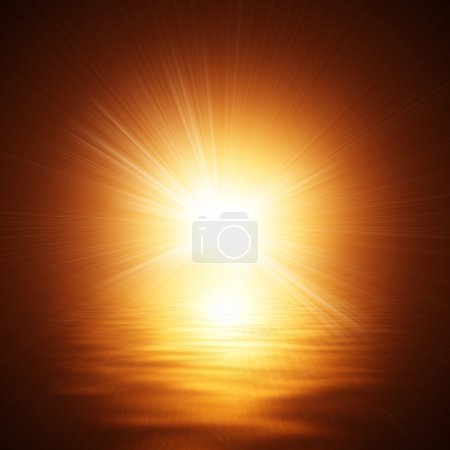 Photo for Sunshine On The Water - Royalty Free Image