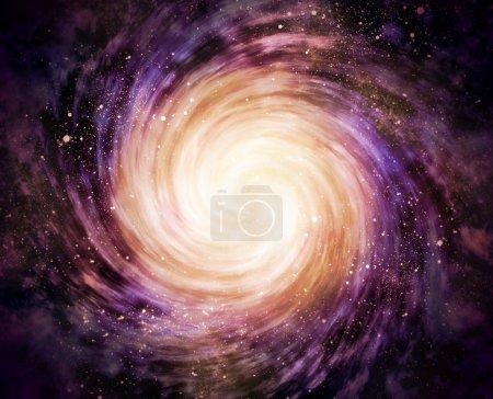Spiralgalaxie im All