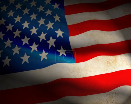 Photo for US Flag - Royalty Free Image