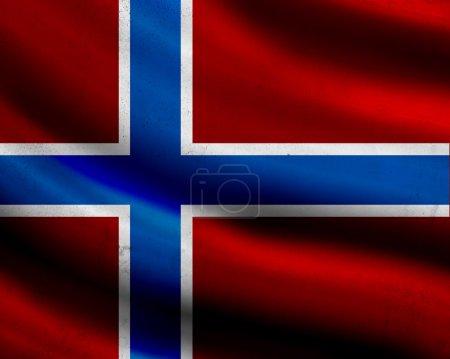 Photo for Grunge Norway flag - Royalty Free Image