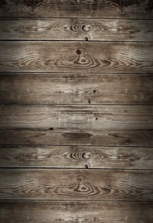 Photo for Stained wooden wall background texture - Royalty Free Image