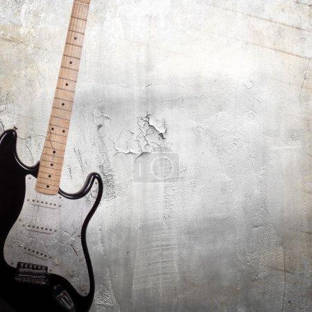 Photo pour Fond musical grunge - image libre de droit