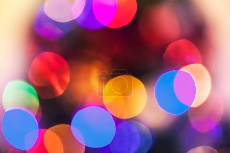 Photo pour Bokeh texture légère - image libre de droit