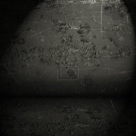 Photo pour Vieille texture abstraite grunge noire - image libre de droit