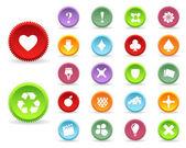 Multicolored Vector Icon Set 02