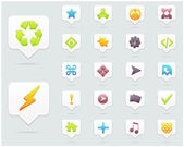 Clean Vector Icon Set 01