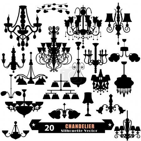 Chandelier set design...