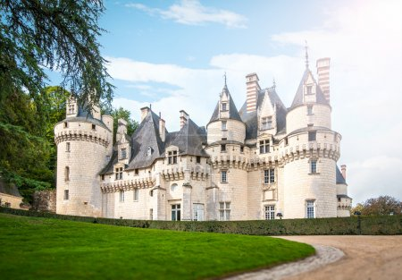 Scenic view of castle in France, Europe.