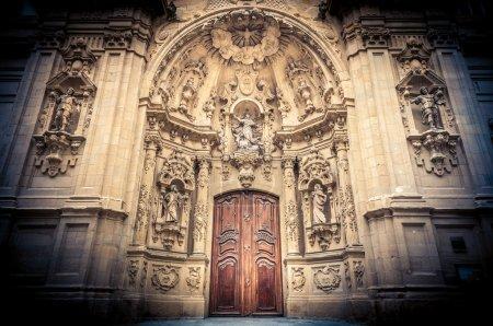 Saint Mary Basilica in San Sebastian, Spain.