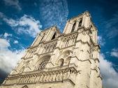 View of Notre Dame de Paris.