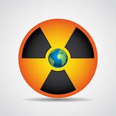 Nukleáris sugárzás szimbólum