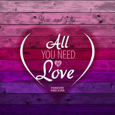 Valentine Romantic card
