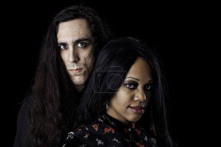 intime couple interracial