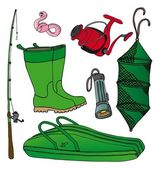 Fishing icon collection 2