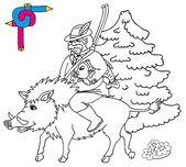 Coloring image hunter