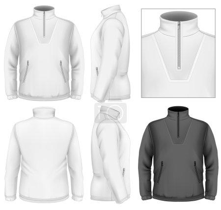 Men's fleece sweater