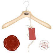 Hanger and sealing wax