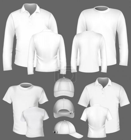 Men's polo shirt and t-shirt