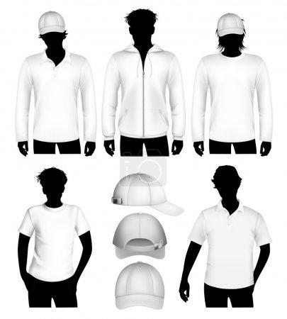 Vector clothes design template