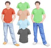 Pánské tričko design