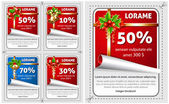 Sale Christmas stickers
